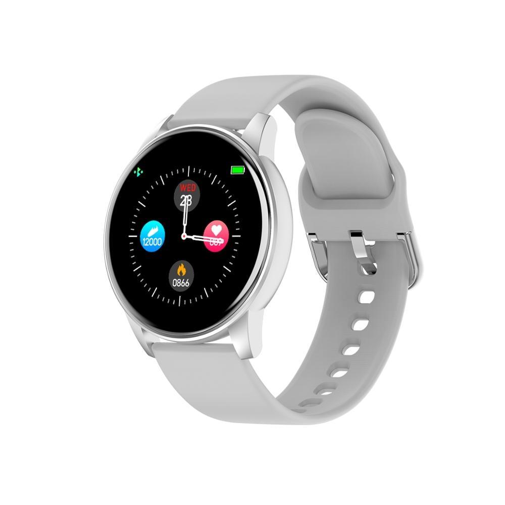 Femperna Smart Watch Men Women Full Touch Screen Waterproof Blood Pressure Heart Rate Monitor Fitness Tracker Smartwatch Men