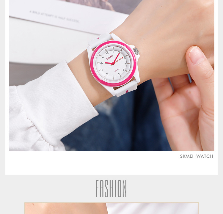H079a7e6fb0ae4abab80a6927868126bbO SKMEI 1578 Fashion Men Women 3Bar Waterproof Personality Colorful