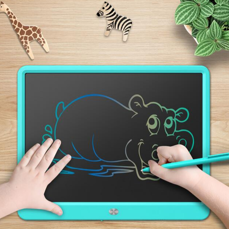 LCD Writing Tablet,15 Inch Colorful Screen Digital Writer Electronic Graphics E65C