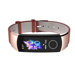 Image 4 - Band Voor Huawei Honor Band 5 Band Smart Polsband Voor Honor Band 4 Riem Echt Leer Voor Band 5 Armband smart Accessoires