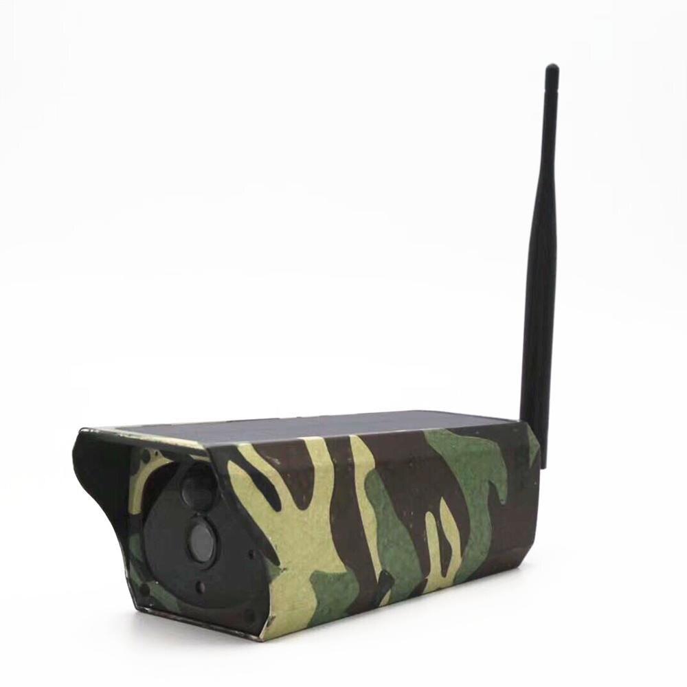 2MP 1080P Водонепроницаемая наружная Wi-Fi беспроводная солнечная система видеонаблюдения камера ночного видения
