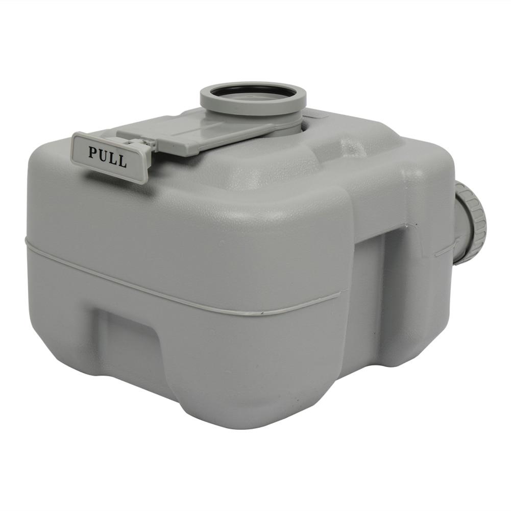 20L Plastic Double Outlet Portable Flush Toilet 2