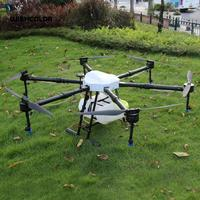 Assembly Six Axis Agriculture Drone 1600mm Agricultural UAV Drone Frame Capacity 16KG 16L Tank for Farm Use