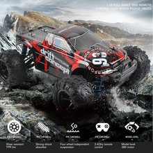 цена на 1:18 Scale 9300E Off-Road Crawler Vehicle Truck Model Toy Brushless Motor Car Remote Control Four Wheel Climber Toy