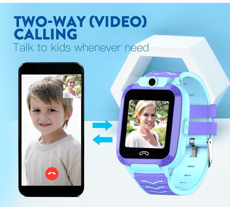 dwaterproof água crianças relógio inteligente localização wifi