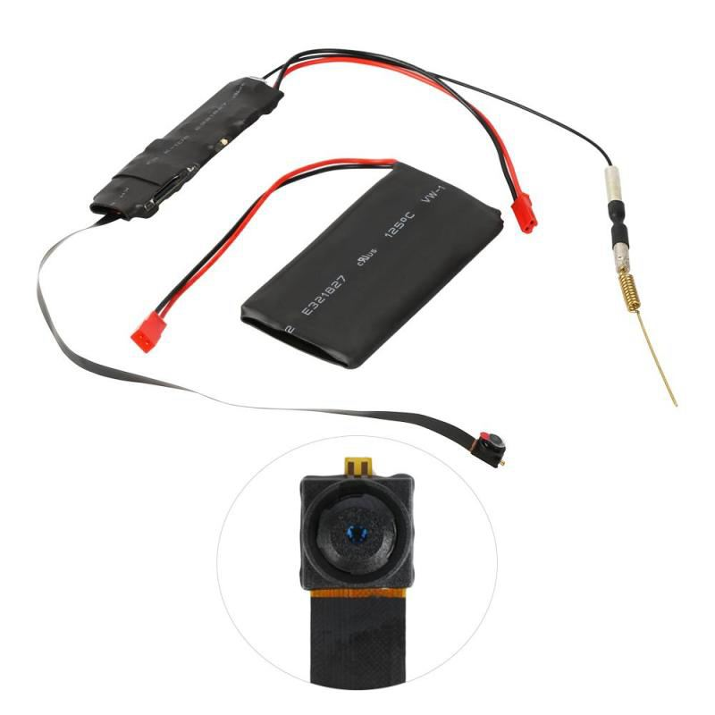 DIY Camera Mini Wifi Camera Full HD 1080P Camcorder P2P Motion Detection Video Security with 2.4G RF Remote Control DIY Camera image