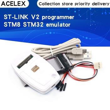 1 sztuk nowy ST-LINK V2 ST-LINK V2(CN) ST LINK Emulator STLINK menedżer pobierania STM8 STM32 sztuczne urządzenie tanie i dobre opinie CN (pochodzenie) REGULATOR NAPIĘCIA electronic module do komputera international standard Other 78*47*12mm