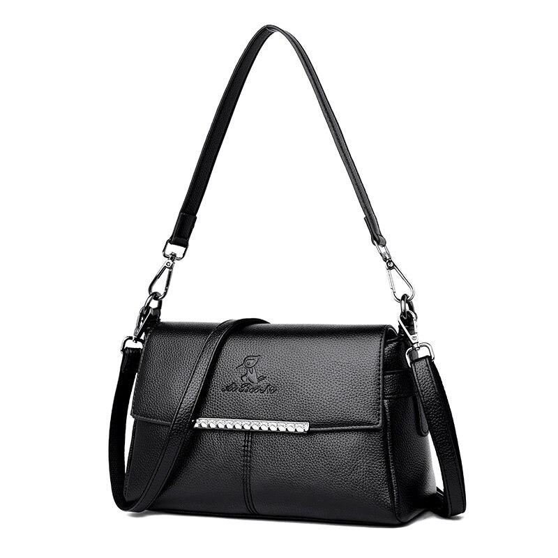 New Luxury Handbags Lady Designer Genuine Leather Women's Handbags Shoulder Crossbody Bag For Women Bolsas Feminina