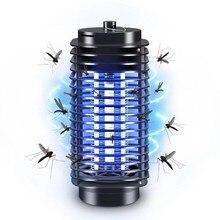 Электрическая комары мухи Ошибка ЛАМПА для уничтожения насекомых Комаров Репеллент Жук Насекомое Ловушка-ловушка Ночная лампа