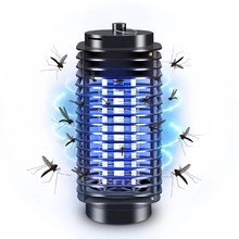 Electric Mosquito Fly Bug Insect Killer Lamp Repellent Trap Night