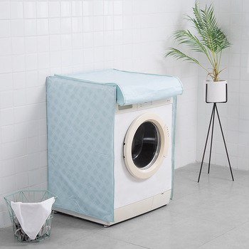 Home Washing Machine Dust Cover Organizer Washer Lid Appliance Waterproof Protector Coat Case Organization Bathroom Accessories 1pc 200cm washing machine inlet pipe pvc universal automatic home appliance parts durable quality