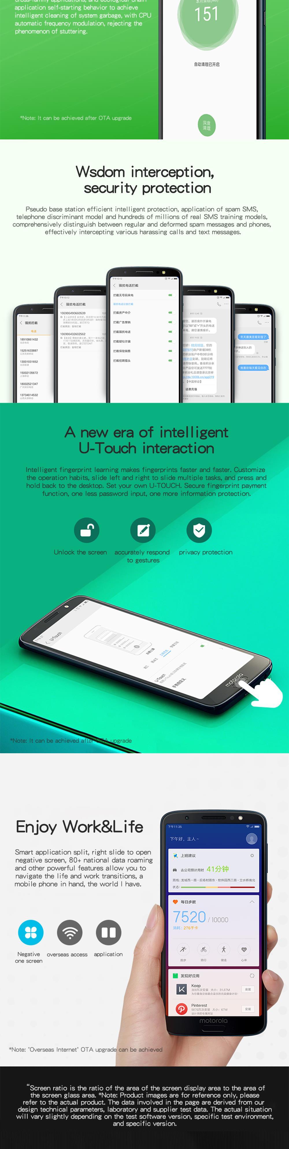 Teléfono Inteligente Moto G6 4