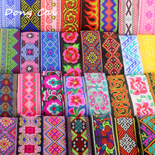 5yards 5cm wide african lace fabric bag guitar decorate sewing embroidered lace Stage costume accessories lace trims Ribbon Lace