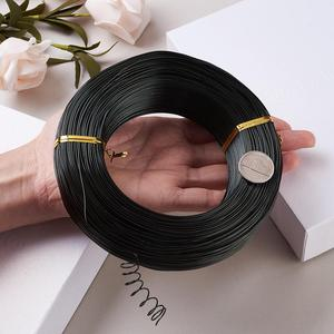 Image 2 - 500g 0.6/1.2/1.5/2.0/3.0mm Aluminum Wire DIY Jewelry Component Accessories Finding Making Necklaces Bracelets Crafts Supplies