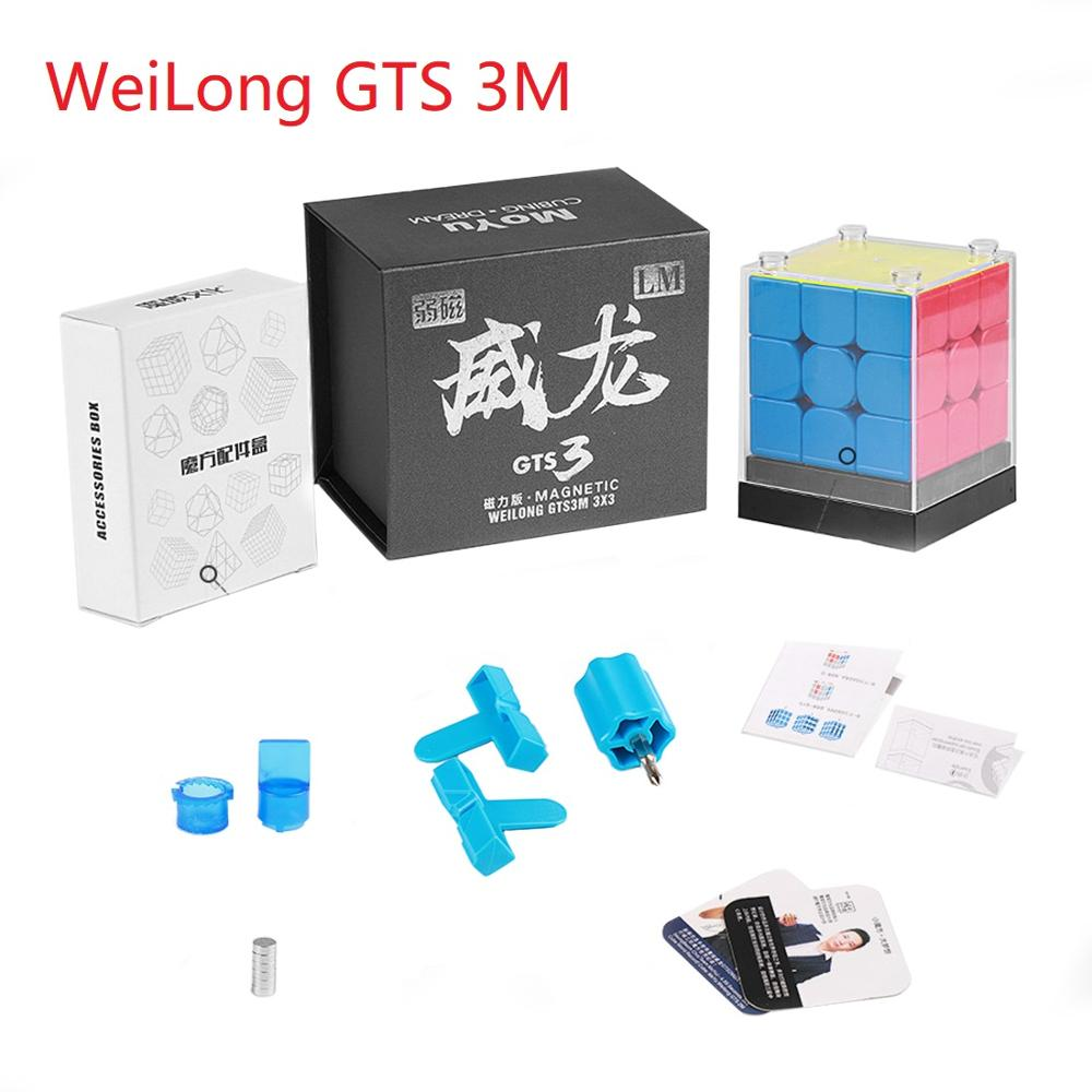 MoYu Weilong GTS3M Regualr GTS V3 Magnetic Cubo Puzzle Professional Weilong GTS 3 M 3x3 GTS3 M Speed CubeS