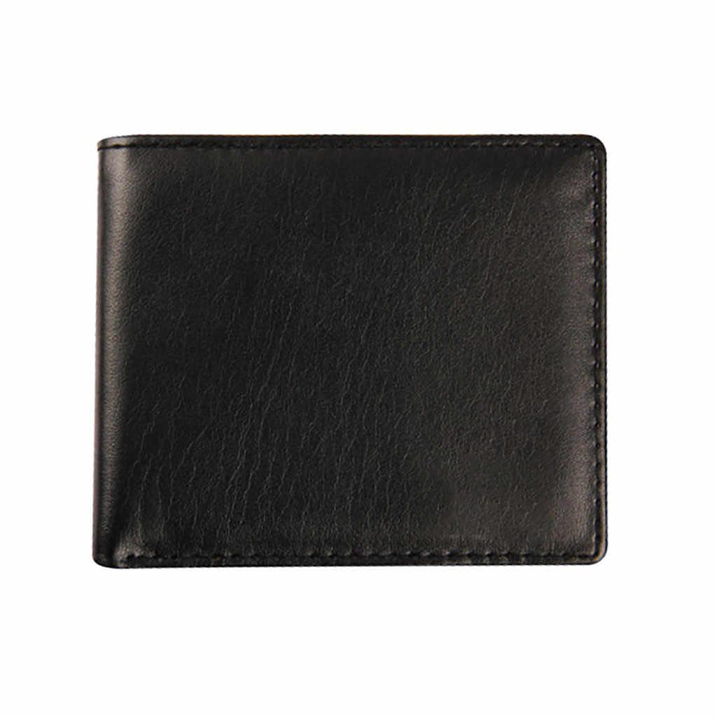 2020 แฟชั่นผู้ชายกระเป๋าสตางค์ขนาดเล็กกระเป๋าสตางค์เงินผู้ชายกระเป๋าสตางค์เหรียญกระเป๋าซิปสั้นกระเป๋าสตางค์ชาย Slim กระเป๋าสตางค์เงินกระเป๋าสตางค์