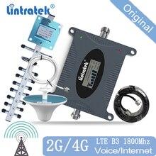 Lintratek Signal Booster Cellular Repeater 850 900 2600 1700 1900 2600mhz Signal Verstärker Amplificador für Europa Asien Amerika