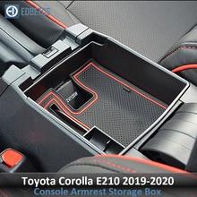 Corolla аксессуары для Toyota Corolla E210 подлокотник, ящик для перчаток вторичное хранилище центральная консоль Органайзер лоток укладка