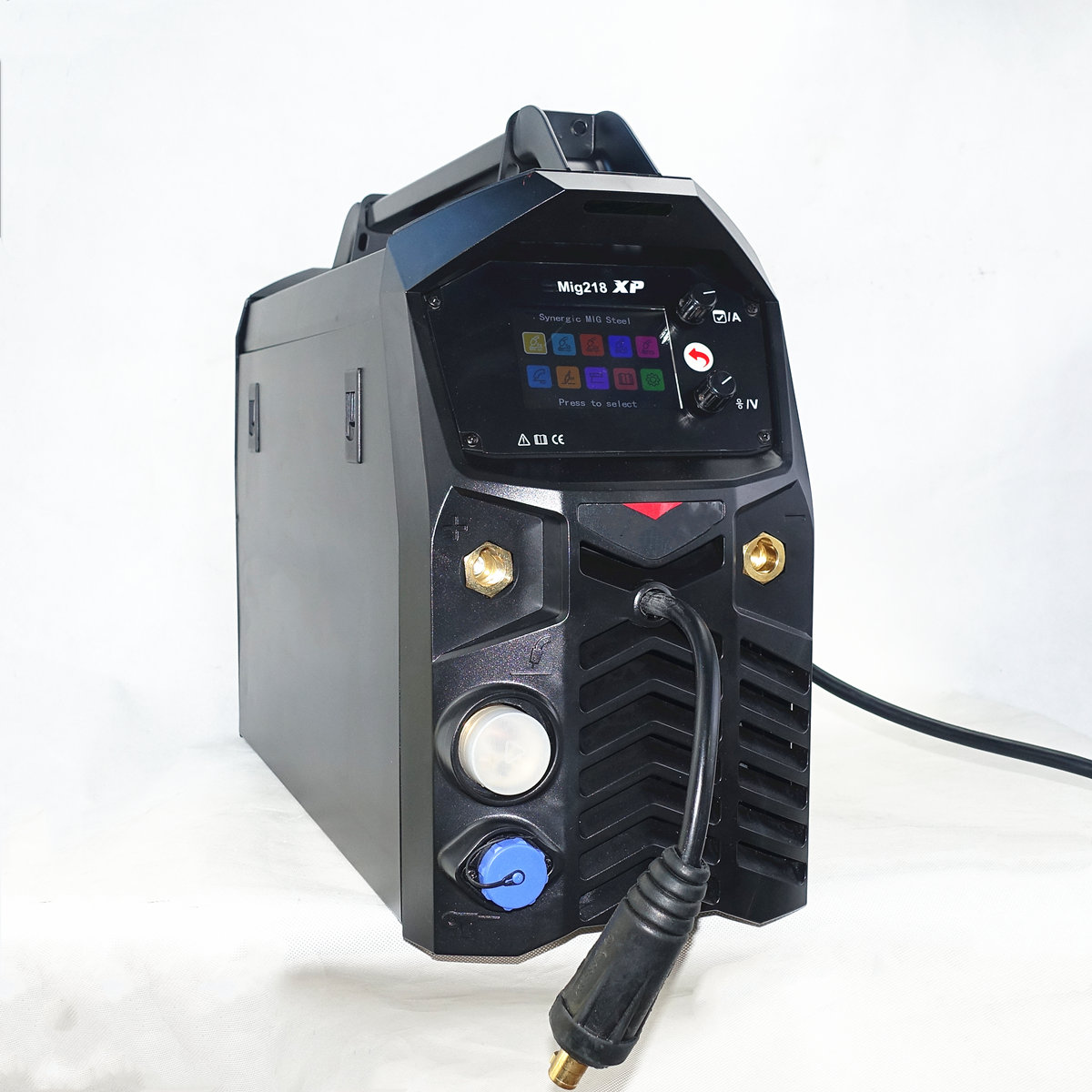 200A Multifunction Welding Machine Synergic Digital Double Pulse TIG MMA MIG Welder For Steel Stainless Steel Aluminum Welding