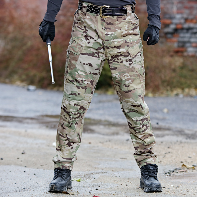 Tactical Cargo Pants Men Combat SWAT Soldier Army Military Pants Cotton Many Pockets Stretch Flexible Man Casual Trousers 6XL