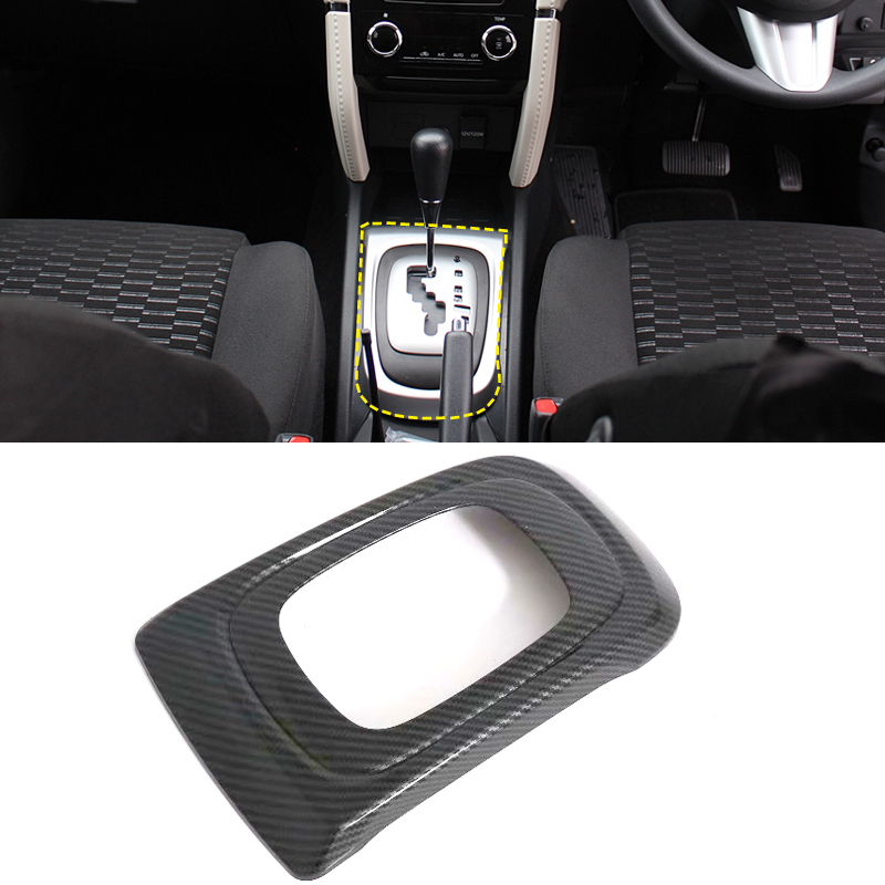 Carbon fiber style Top Center Armrest Surface Case Cover For Toyota Camry 2018