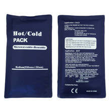 Quente/frio embala água reusável bloco de gelo feze microondas água fervente calor fresco conveniente saco insulatedsoothing almofadas de calor