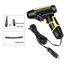 Pompe à Air Portable pour pneus de voiture, gonfleur numérique, 120W, pompe à Air pour véhicule, moto, camion