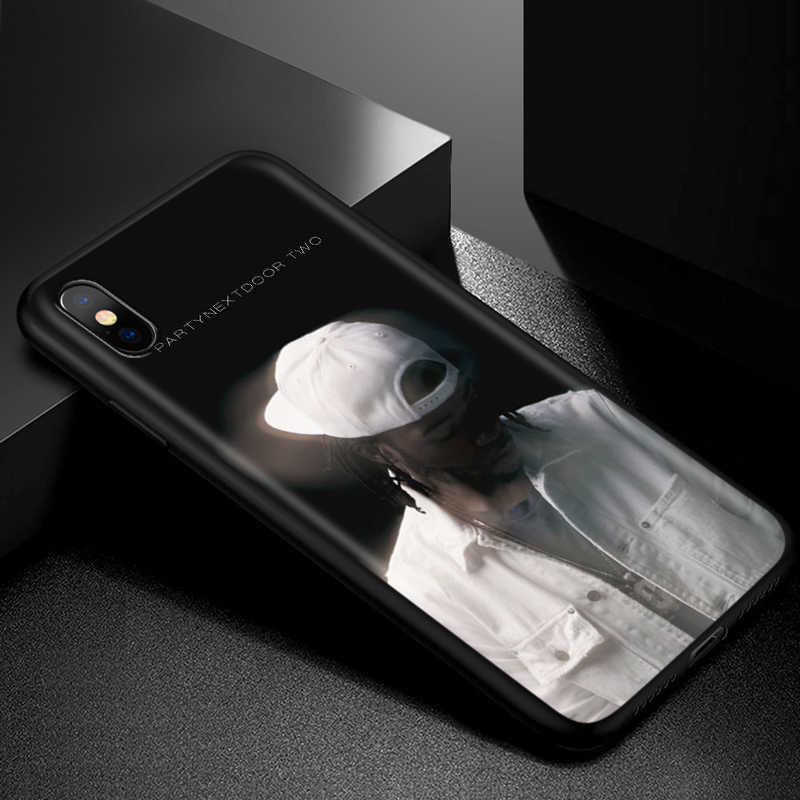 Partynextdoor Silikon Lembut Case untuk iPhone 11 Pro XS Max XR X 8 7 6 6S PLUS 5 5S SE