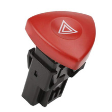Triangle Sign Emergency Control Switch 820044272 For Renault Universal Premium Command Button Hazard Warning Lamp