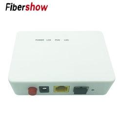 SFF módulo EPON FTTH EPON 1GE 1 porta ONU ONT EPON OLT ZTE 1.25G chipset de fibra para a casa
