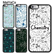 Vintage Seamless Chemistry Laboratory Coque Accessories For iPhone