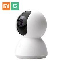 Умная веб камера Xiaomi, популярная версия, 360 градусов, 1080P HD, ночное видение, беспроводная Wi Fi IP веб камера для умного дома, приложение для умного дома