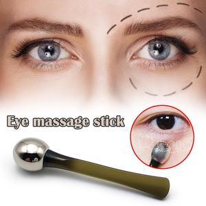 Eye Cream Applicator Anti Wrinkle Eye Massager Stick Brush Spatula Mixing Essence Care Mixing Mask Metal Beauty C3I2
