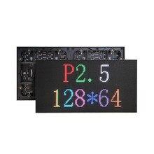 Módulo LED P2.5 para interiores, 128x64 puntos, 320x160mm