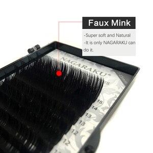 Image 5 - NAGARAKU 5 cases 16rows high quality mink eyelash extension,individual eyelashes,false eyelashes.