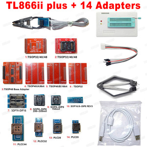 Image 2 - V9.00 XGecu 100% orijinal TL866ii Plus EEPROM programcı daha iyi thanTL866CS Bios Nand programcı PIC AVR 24 93 25 MCU Bios EPROM