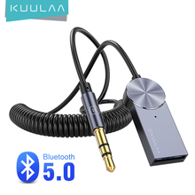 USB Aux Bluetooth Adapter Dongle Cable For Car PC 3.5mm Jack Aux Bluetooth 5.0 Wireless Receiver Speaker Audio Music Transmitter