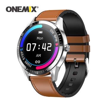 ONEMIX Sport Smart Watch Screen IP67 Waterproof Men Women Smart Watch With Blood Pressure Measurement Fitness Bracelet Watch