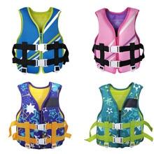 Kayak Life Vest Sports Jacket Swimming Boating Ski Drifting Floatation Neoprene Life Vest Kids Life Jacket Water Sports