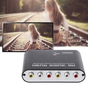 Image 4 - Convertisseur SPDIF optique 5.1 décodeur AC3 DTS Surround son amplificateur 3.5 AUX Coaxial numérique à analogique 6 RCA HD Audio Rush