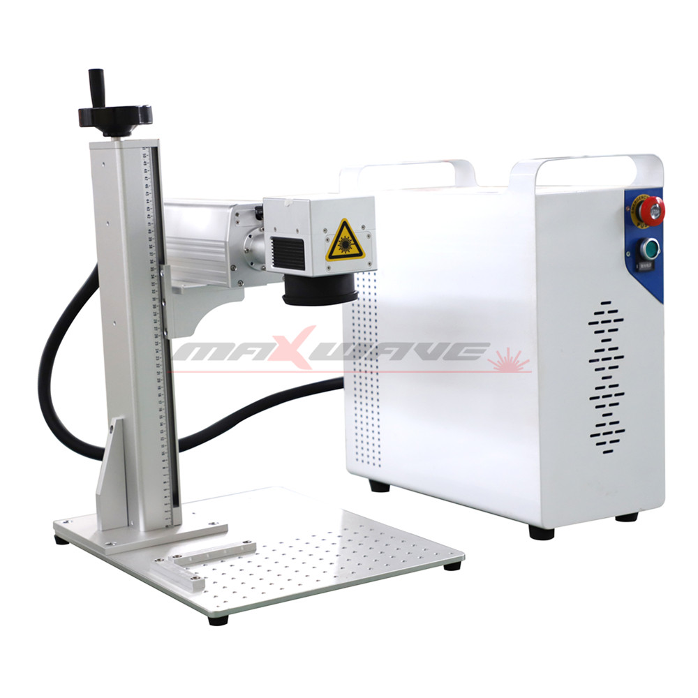 MW-20W Fiber Laser Marking Machine With Self-Clean system And Lifting Handle 6