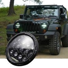 Universal 7 polegada 300w led farol da motocicleta do carro h4 phare farol moto head light lâmpada para softail