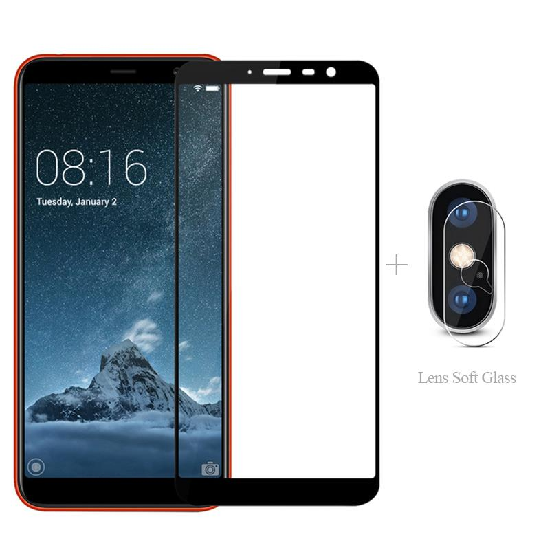 Full Cover Tempered Glass + <font><b>Camera</b></font> Protector For <font><b>Meizu</b></font> 16s Pro 16xs Note 9 8 M8 Lite V8 X8 <font><b>16th</b></font> 16x M 8 X V 8 16 S X XS image
