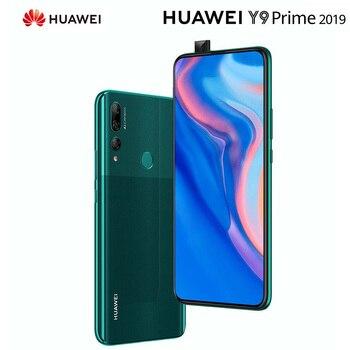 Перейти на Алиэкспресс и купить Оригинальный смартфон HUAWEI Y9 Prime мобильный телефон 4G RAM 128GB ROM Kirin710, экран 6,59 дюйма, сотовый телефон с поддержкой Google Play phone