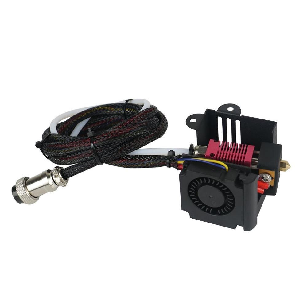 Cr-10 3D imprimante pièces Mk8 extrudeuse ensemble Mk8 buse 0.4 Mm Hotend Kits buse extrale 0.2 Mm 0.3 Mm 0.5 Mm pour Cr-10 de crealité