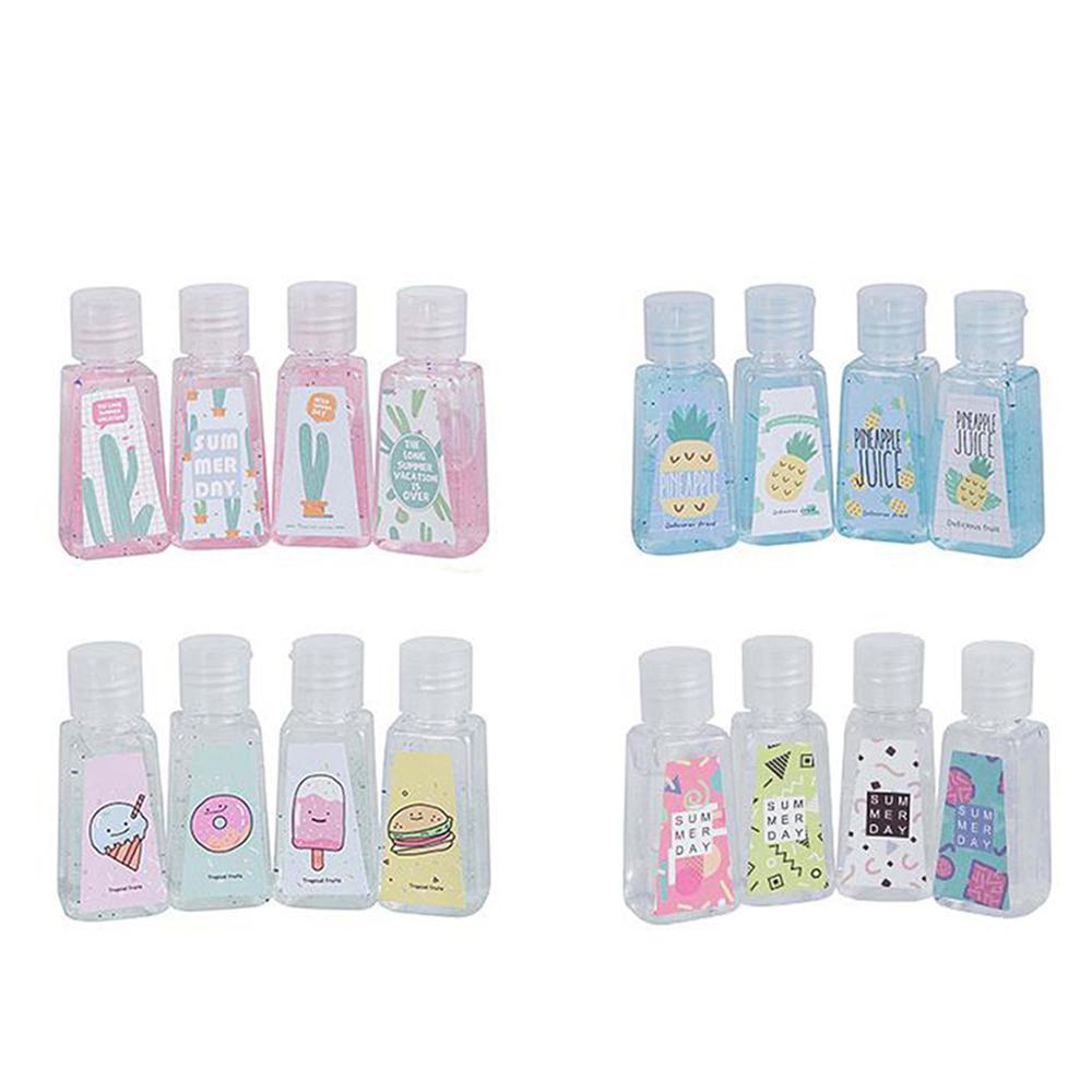 1Pc Disposable Liquid Soap Lotion Portable Hand Sanitizer No Clean Detergent Cartoon Hand Soap Random Color