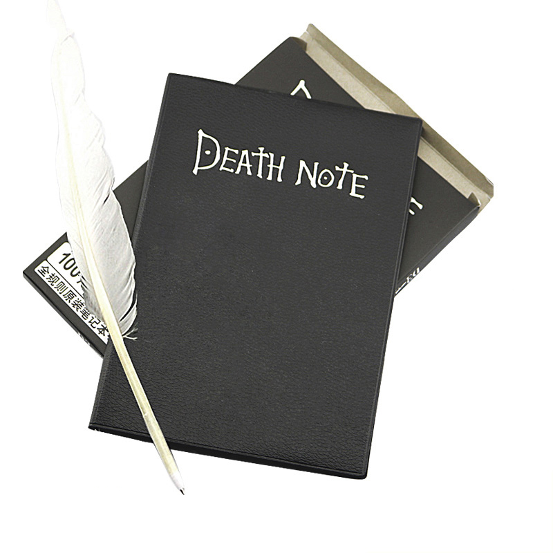 Creative Death Notebooks Novelty Diary Anime Sketchbook Bullet Journal Notebooks For Boys School Office Supplies Stationery