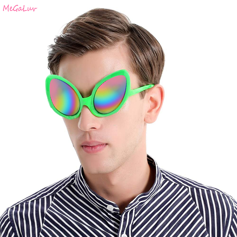 1 Pairs Cool Funny Alien Glasses Costume Mask Novelty Plastic Donut Sunglasses Bachelorette Party Photo booth Props Favors