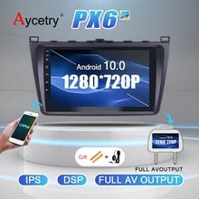 DSP IPS 4G + 64GB Radio de coche 2 din Android 10 UNIDAD DE autoradio de reproductor de Audio GPS para Mazda 6 M6 2007 2014 estéreo para coche no 2din dvd radio coche