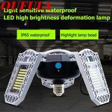 Oufula светодиодный светильник для гаража деформированный индукционный